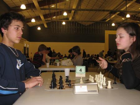 Lycée : Berenger contre Floriane