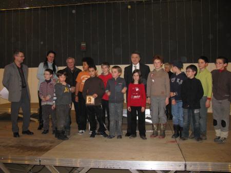 Ecole Fénelon Clermont-Ferrand championne